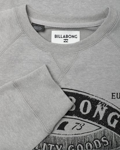 1 Guardiant Crew Sweatshirt Gris L1CR01BIF8 Billabong