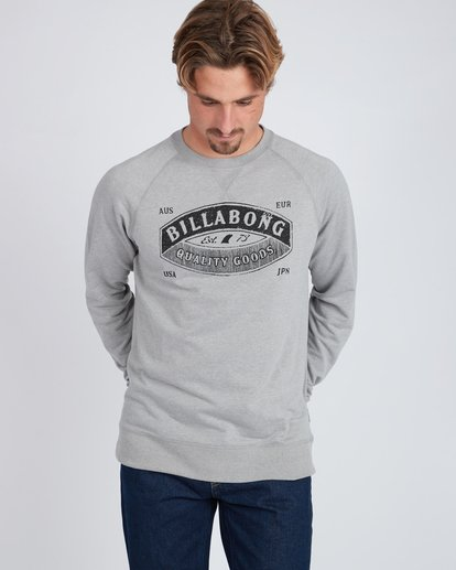2 Guardiant Crew Sweatshirt Gris L1CR01BIF8 Billabong