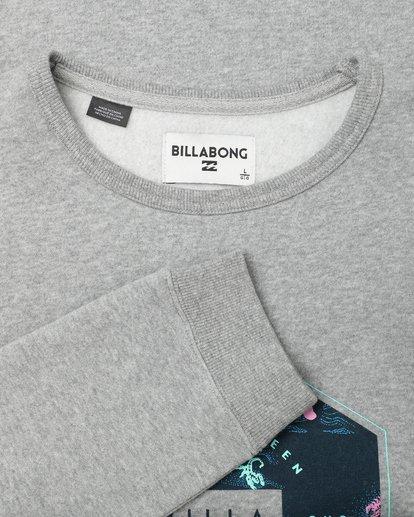 2 Access Crew Sweatshirt Gris L1CR02BIF8 Billabong