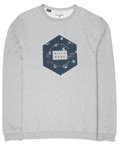 3 Access Crew Sweatshirt Gris L1CR02BIF8 Billabong