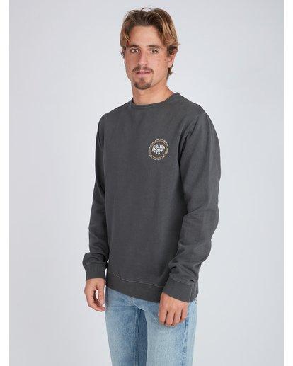 3 Cruiser Crew Sweatshirt Noir L1CR03BIF8 Billabong