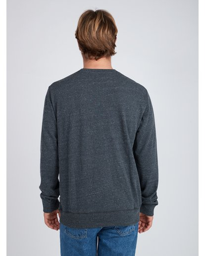 4 Rising Crew Sweatshirt Noir L1CR05BIF8 Billabong