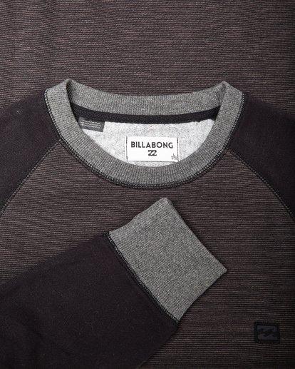 1 Balance Crew Sweatshirt Noir L1FL02BIF8 Billabong