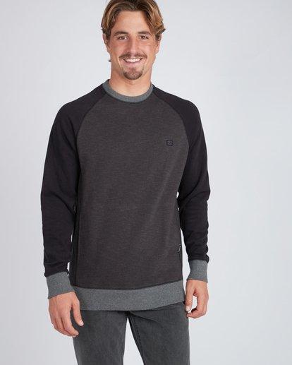 3 Balance Crew Sweatshirt Noir L1FL02BIF8 Billabong