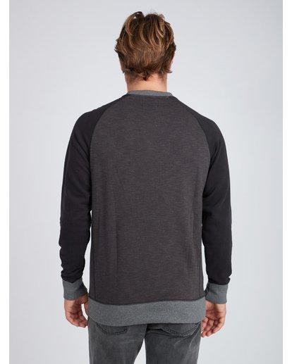 5 Balance Crew Sweatshirt Noir L1FL02BIF8 Billabong