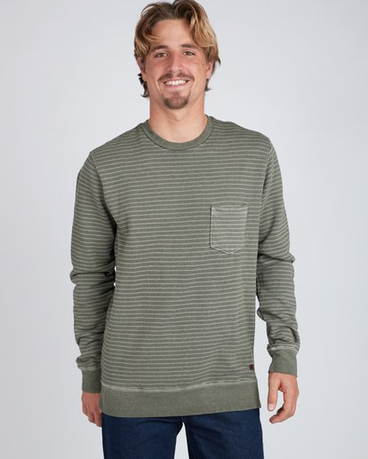 4 Stringer Crew Sweatshirt  L1FL03BIF8 Billabong