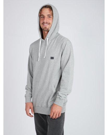 3 All Day Sweatshirt Gris L1FL06BIF8 Billabong