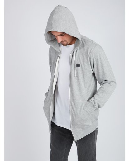 4 All Day Zip Hoodie Gris L1FL15BIF8 Billabong