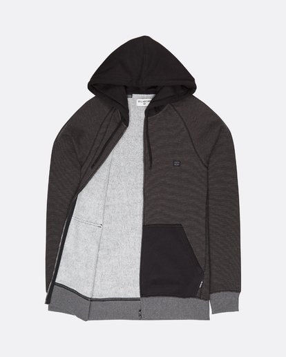 1 Balance Zip Hoodie Noir L1FL16BIF8 Billabong