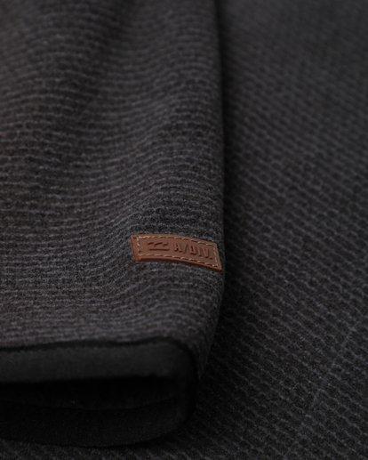 3 Boundary Mock Half Zip Pullover Noir L1FL21BIF8 Billabong