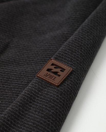 4 Boundary Mock Half Zip Pullover Noir L1FL21BIF8 Billabong