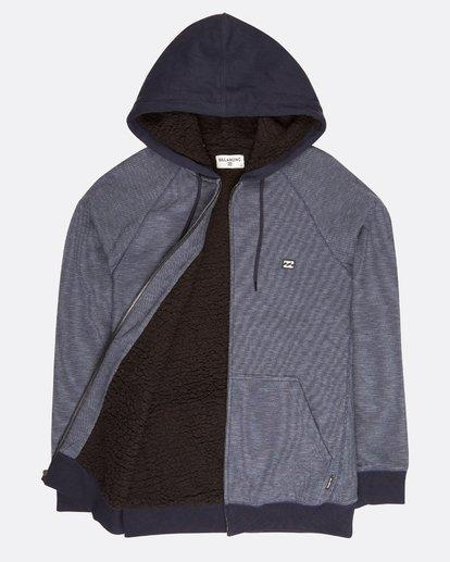 1 Boundary Mock Half Zip Pullover Azul L1FL21BIF8 Billabong