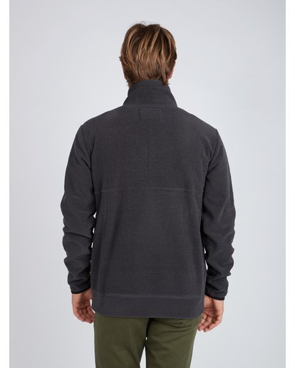 8 Boundary Mock Half Zip Pullover Noir L1FL21BIF8 Billabong