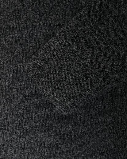 3 Boundary - Sherpa Zip Hoodie for Men Black L1FL23BIF8 Billabong