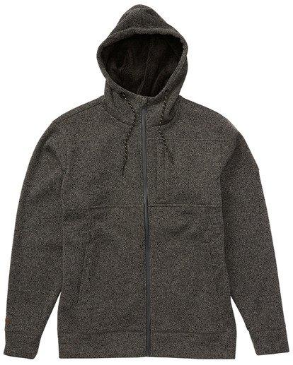 10 Boundary - Sherpa Zip Hoodie for Men Black L1FL23BIF8 Billabong