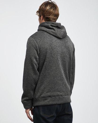 15 Boundary - Sherpa Zip Hoodie for Men Black L1FL23BIF8 Billabong