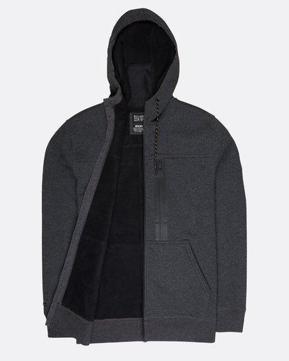1 Quadrant Polar Fleece Dwr Zip Hoodie Noir L1FL24BIF8 Billabong