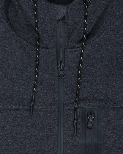 2 Quadrant Polar Fleece Dwr Zip Hoodie Noir L1FL24BIF8 Billabong
