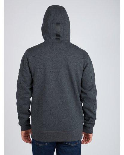 8 Quadrant Polar Fleece Dwr Zip Hoodie Noir L1FL24BIF8 Billabong