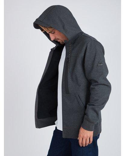9 Quadrant Polar Fleece Dwr Zip Hoodie Noir L1FL24BIF8 Billabong