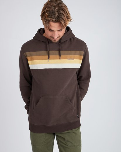 2 Flex Hull Wave Washed Hoodie Marron L1HO07BIF8 Billabong