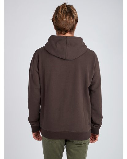3 Flex Hull Wave Washed Hoodie Marron L1HO07BIF8 Billabong