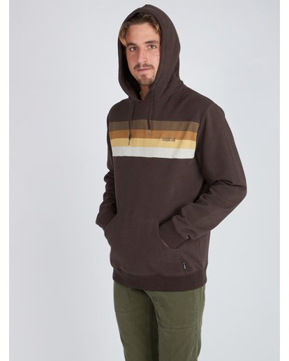 4 Flex Hull Wave Washed Hoodie Marron L1HO07BIF8 Billabong