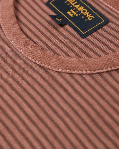 2 Stringer Yarn Dye Stripe T-Shirt Green L1JE01BIF8 Billabong