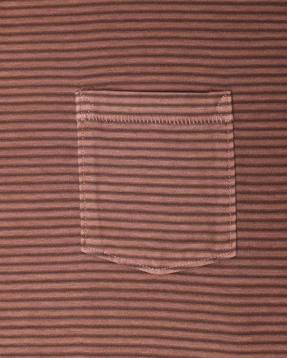 3 Stringer Yarn Dye Stripe T-Shirt Verde L1JE01BIF8 Billabong