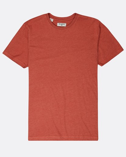 0 All Day Crew T-Shirt Rouge L1JE05BIF8 Billabong