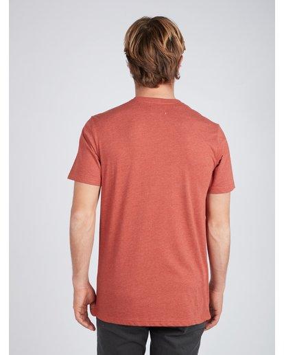 4 All Day Crew T-Shirt Rouge L1JE05BIF8 Billabong