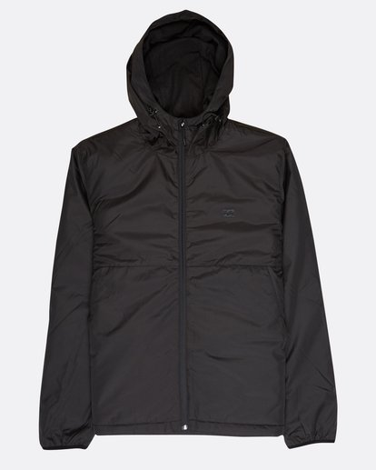 0 Transport Dwr Warm Windbreaker Black L1JK03BIF8 Billabong