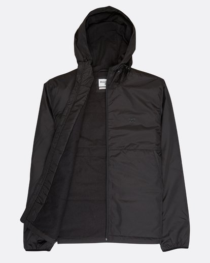 1 Transport Dwr Warm Windbreaker Black L1JK03BIF8 Billabong