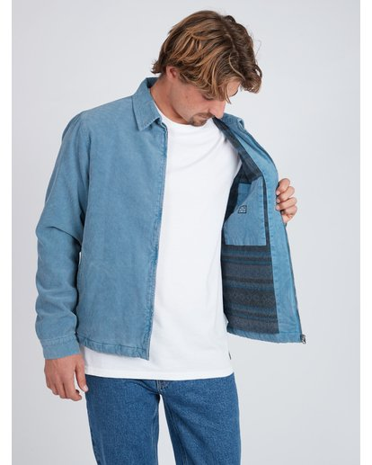 10 The 73 Corduroy Jacket Blue L1JK05BIF8 Billabong