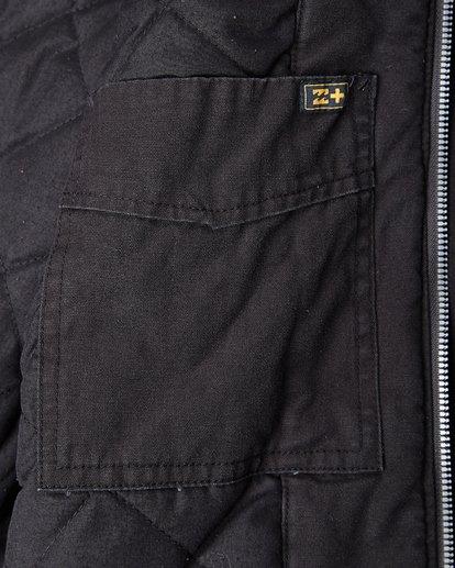 4 Barlow Twill Trucker Jacket Noir L1JK06BIF8 Billabong