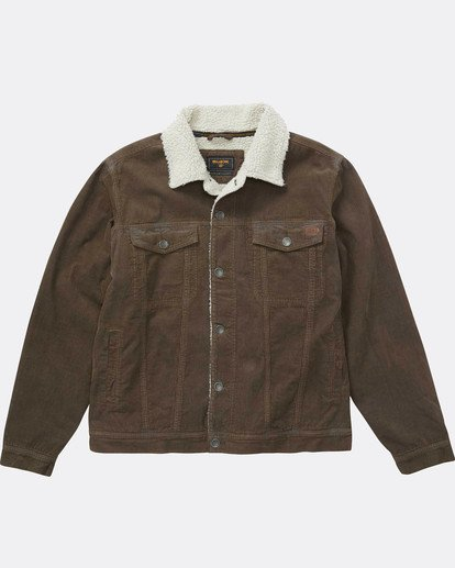 1 Barlow Warm Trucker Jacket Marron L1JK07BIF8 Billabong