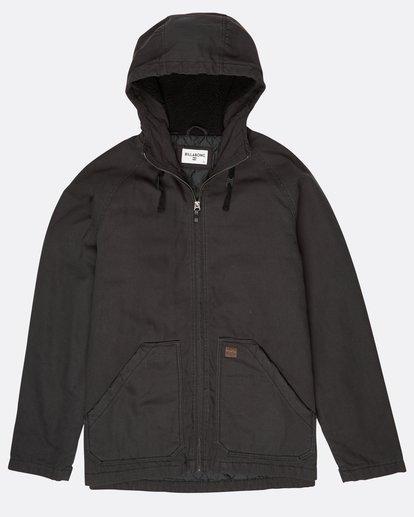 0 All Day Canvas Warm Jacket Noir L1JK11BIF8 Billabong