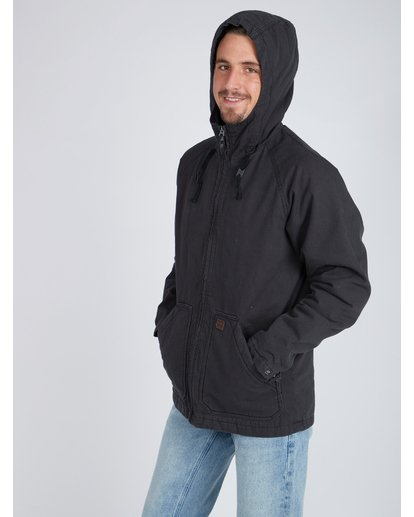 5 All Day Canvas Warm Jacket Noir L1JK11BIF8 Billabong