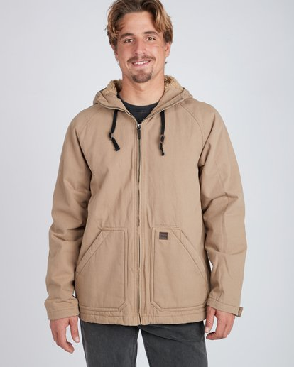 4 All Day Canvas Warm Jacket Gray L1JK11BIF8 Billabong