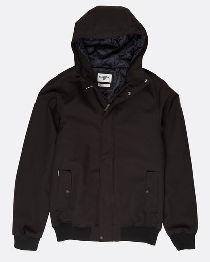 0 All Day 10K Waterproof Warm Jacket Noir L1JK14BIF8 Billabong