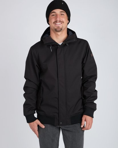5 All Day 10K Waterproof Warm Jacket Black L1JK14BIF8 Billabong