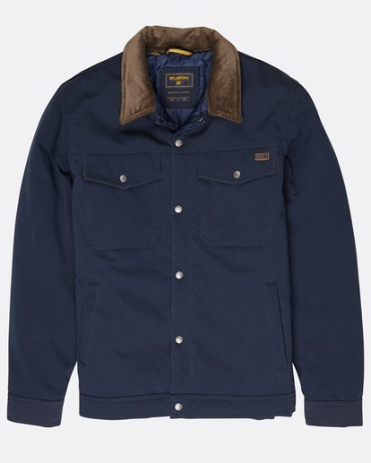 0 Barlow 10K Waterproof Warm Jacket Bleu L1JK16BIF8 Billabong