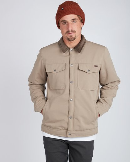 4 Barlow 10K Waterproof Warm Jacket Gris L1JK16BIF8 Billabong