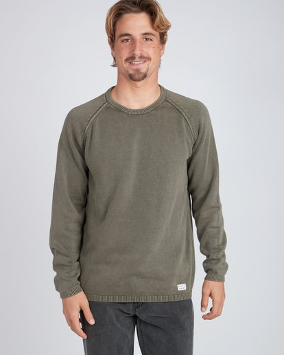 2 Wave Washed Raglan Sweater  L1JP02BIF8 Billabong