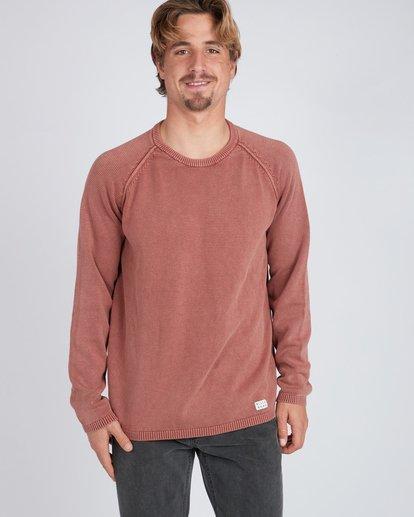 2 Wave Washed Raglan Sweater Vert L1JP02BIF8 Billabong