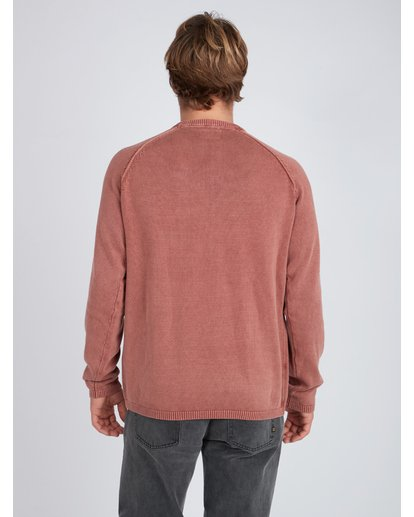 4 Wave Washed Raglan Sweater Vert L1JP02BIF8 Billabong