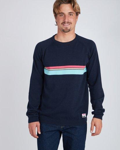 2 Reissue Raglan Sweater Bleu L1JP03BIF8 Billabong