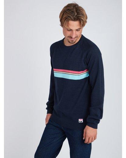 3 Reissue Raglan Sweater Bleu L1JP03BIF8 Billabong