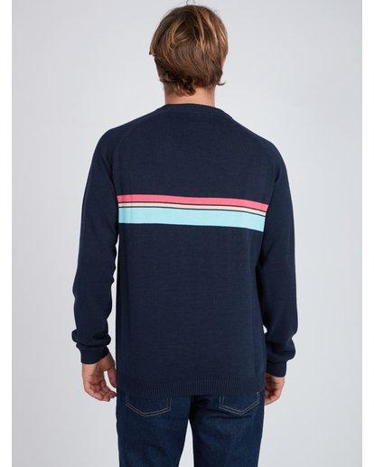4 Reissue Raglan Sweater Bleu L1JP03BIF8 Billabong