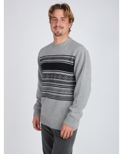 4 Mayfield Warm Sweater Gris L1JP04BIF8 Billabong